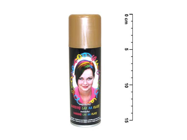 Spray na vlasy 141 zlatý