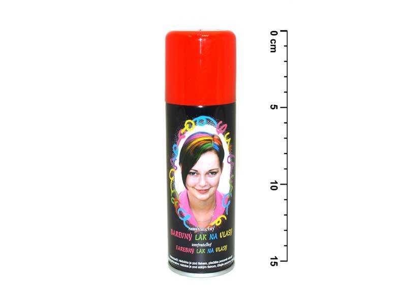 Sprej na vlasy 141 neón červený