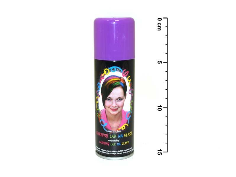 Spray na vlasy 141 neón fialový