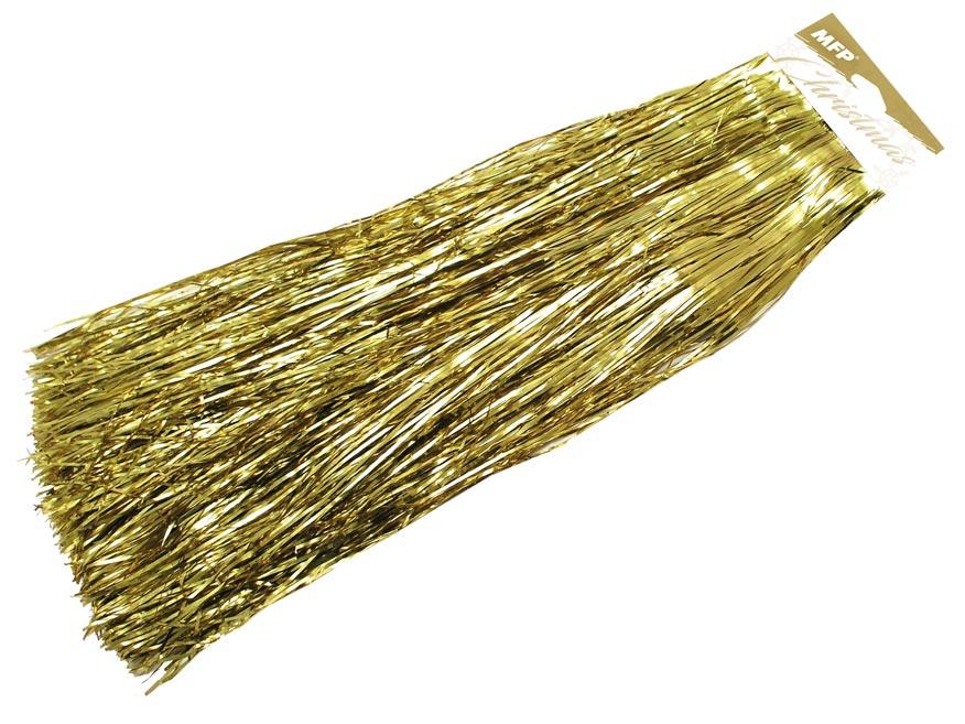 lameta vianočná zlatá metal 8881103