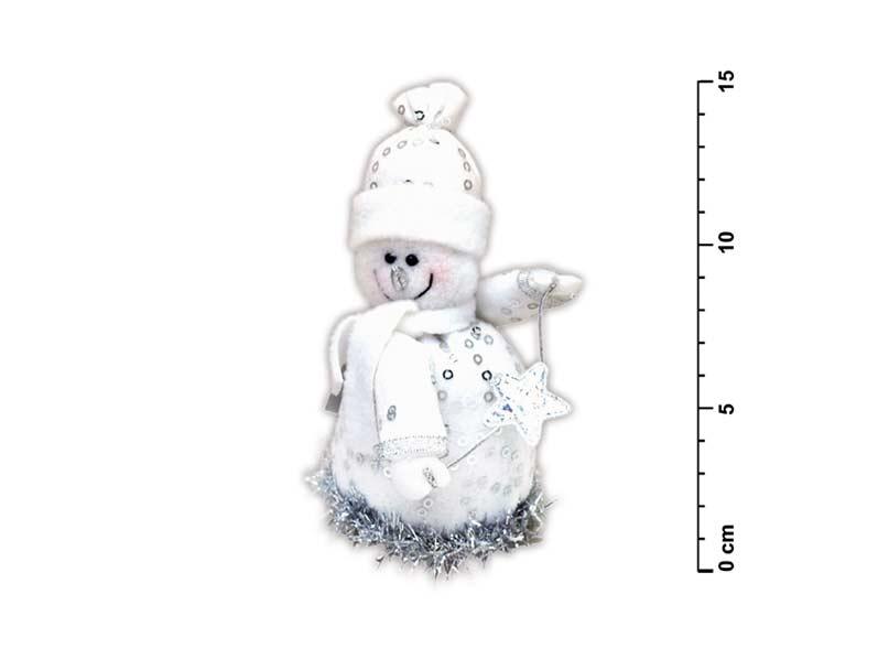 Snehuliak s hviezdou strieborný SH- 809102D4
