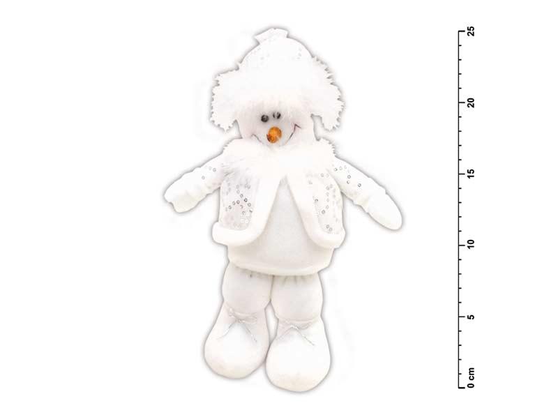 Snehuliak stojací malý plyš SH- 809115D1
