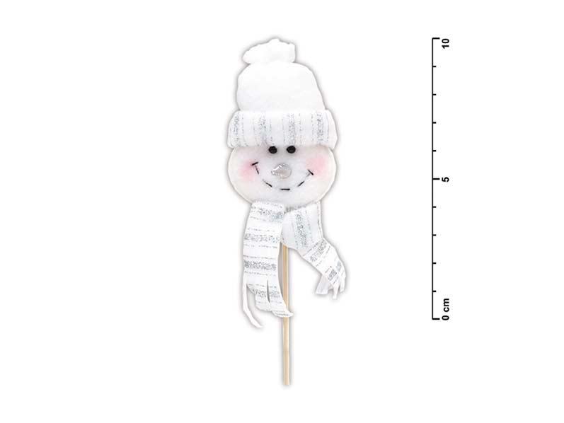 Zápich snehuliak biely SH- 809539D2