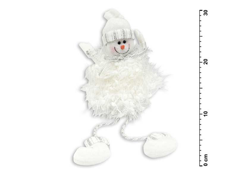Snehuliak biely 30cm YX09535D1