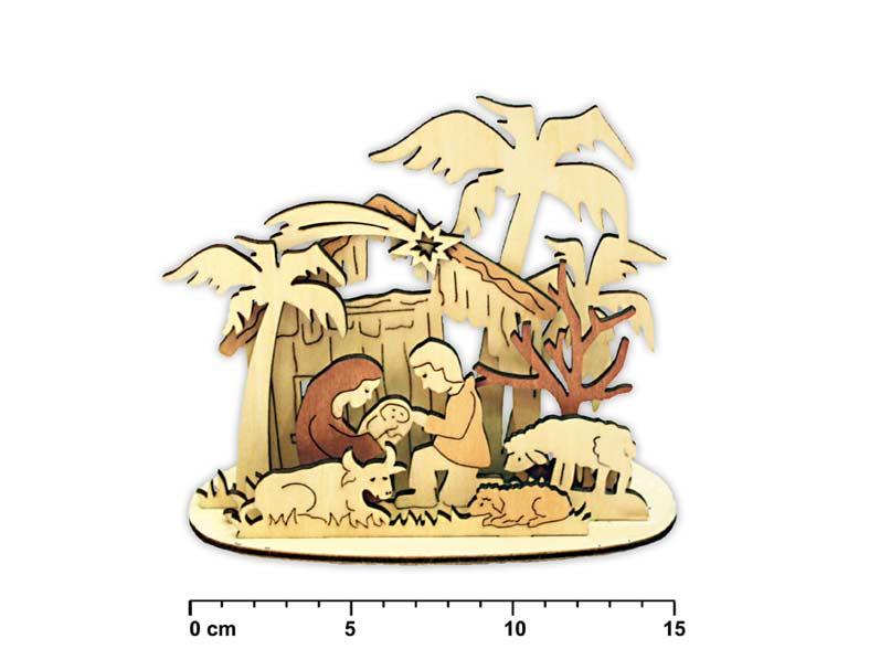 svietnik betlehém drevený LMX- 5602 8885264