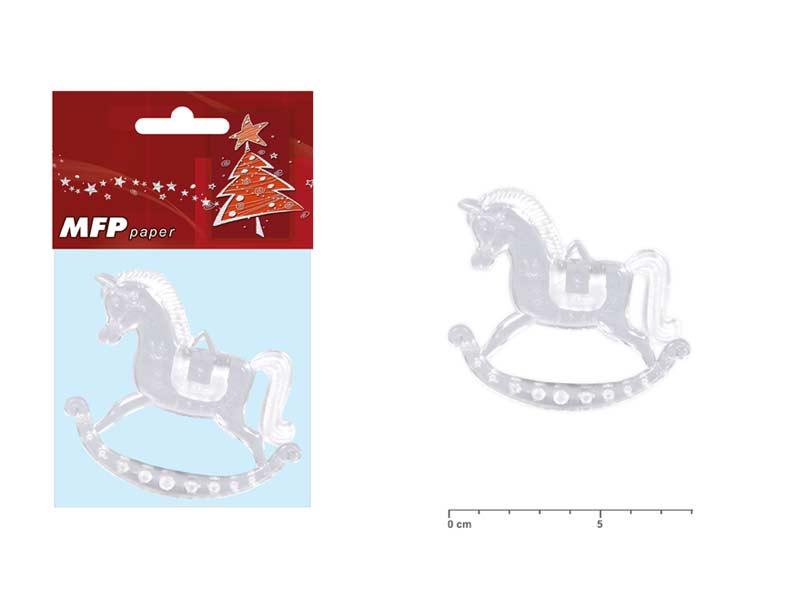 Kôň 8cm/2ks akrylový