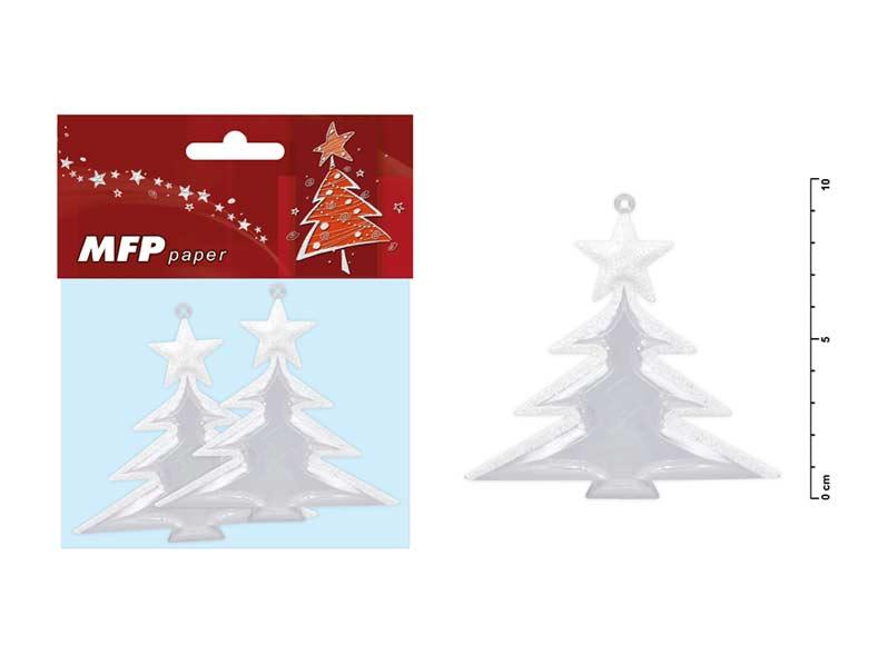 stromček 9,5cm/2ks akrylový 8885494
