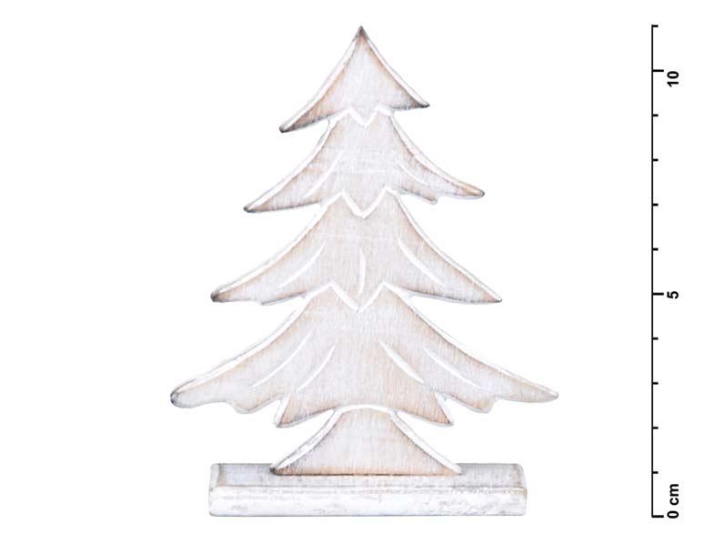 Stromček drevený 11cm HW- 52920A