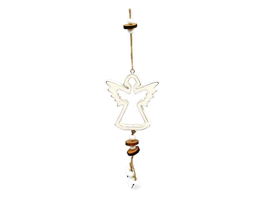 anjel záves drevený 10x11/37cm HW- 54830D 8885601
