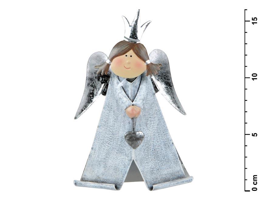 Anjel plechový č. 2 - 16,5 cm