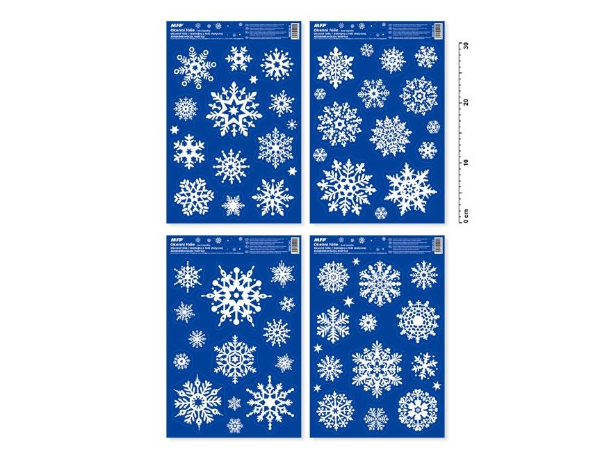 okenná fólia vianočná puffy VA005 20x30cm 8885725