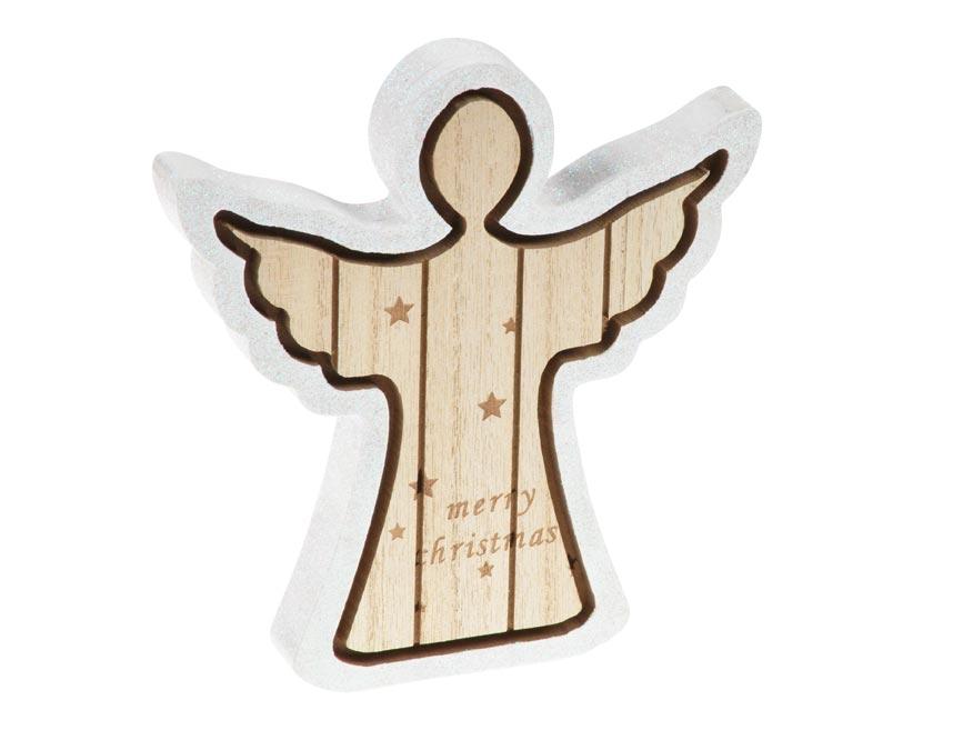 Anjel drevo 18cm