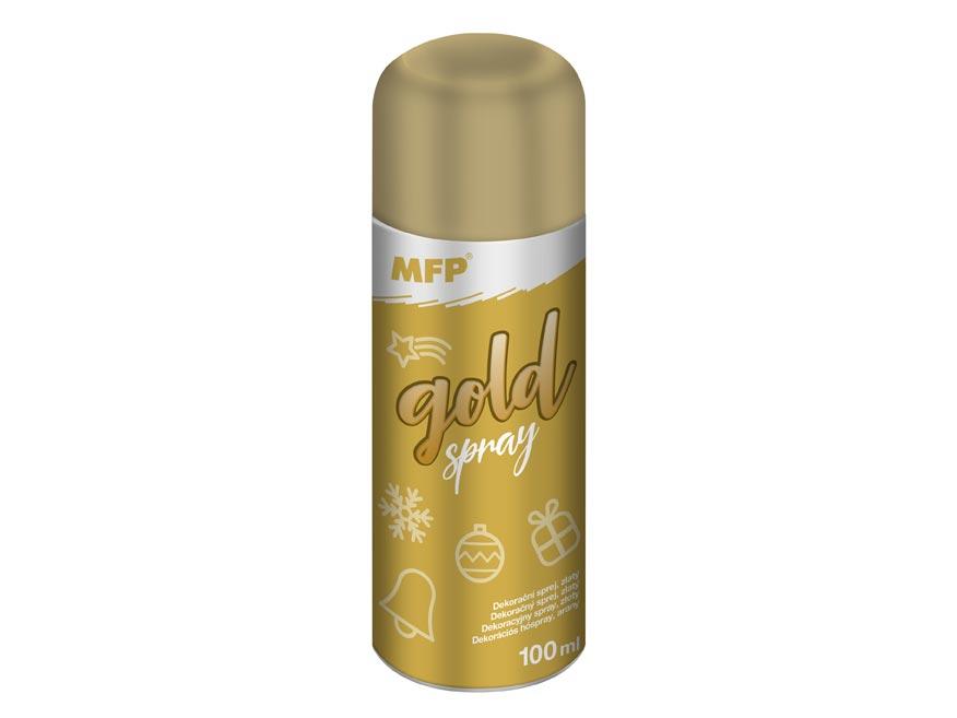 Sprej zlatý dekoračný 100ml