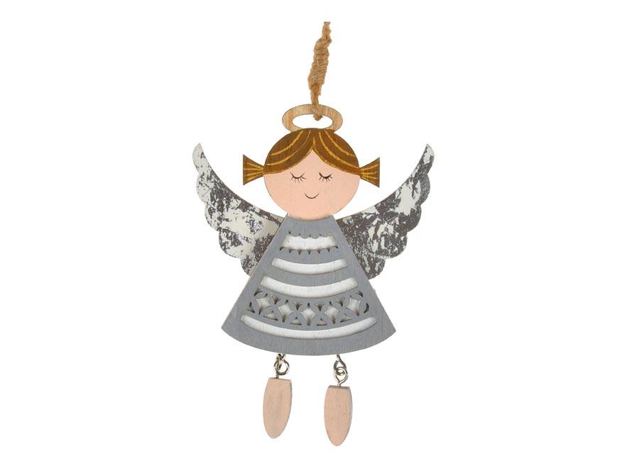 anjel záves strieborný 9,8x13,5cm CJ-1955/S 8885977