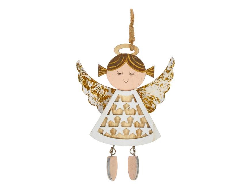 anjel záves zlatý 9,8x13,5cm CJ-1955/G 8885978