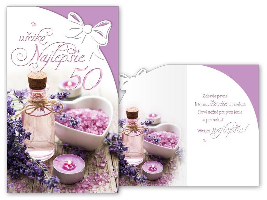 SK Blahoželanie k narodeninám 50 M11-492 H