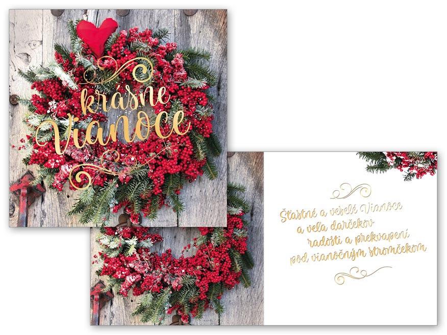 SK Blahoželanie vianočné V24-387 H