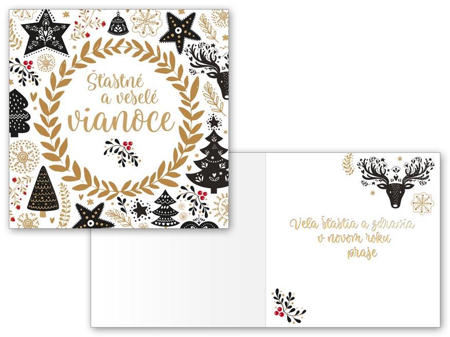 SK Blahoželanie vianočné V24-389 H