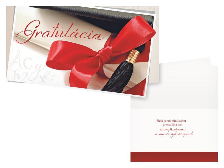 sK Blahoželanie k ukončeniu štúdia M31-037 H PRANI_H_410