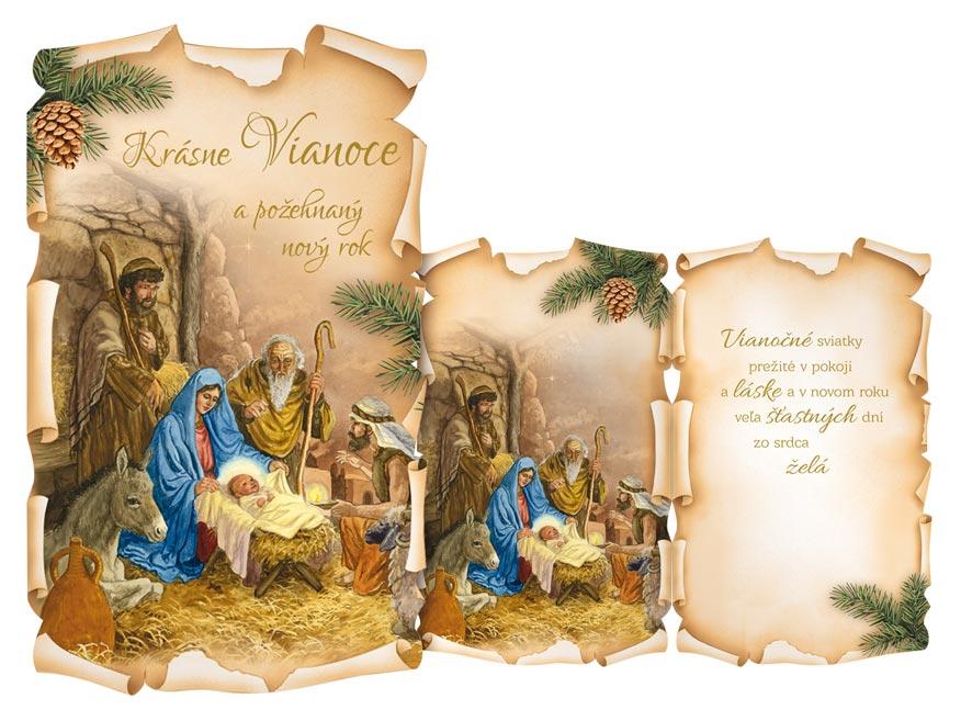 SK Blahoželanie vianočné  V24-403 H