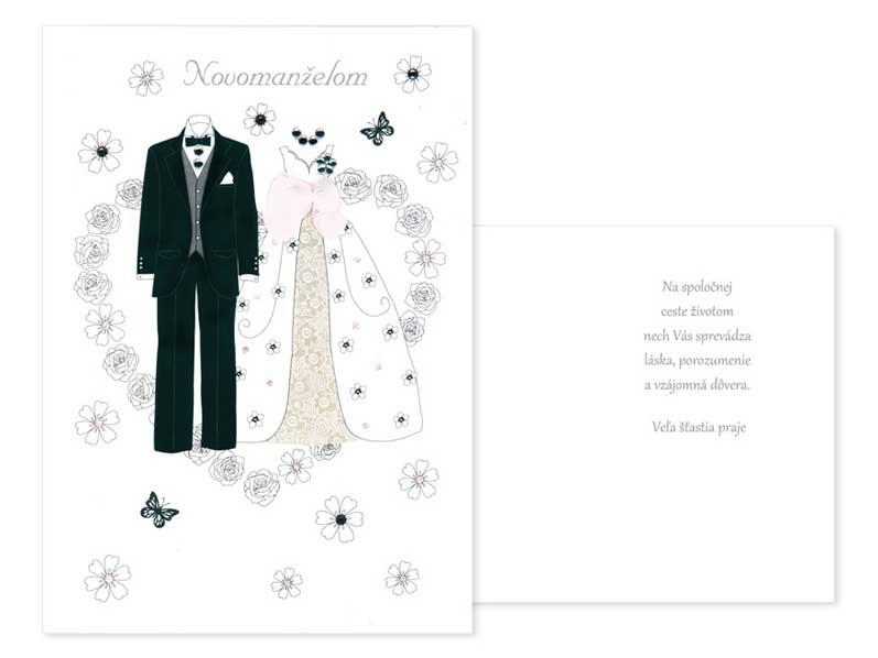 sK Blahoželanie svadobné CN-256-ACS050202 PRANI_H_C0208S