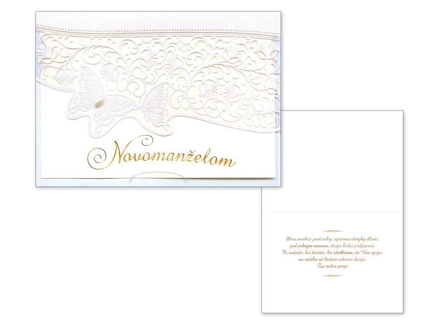 sK Blahoželanie svadobné  CN-411 PRANI_H_C0324