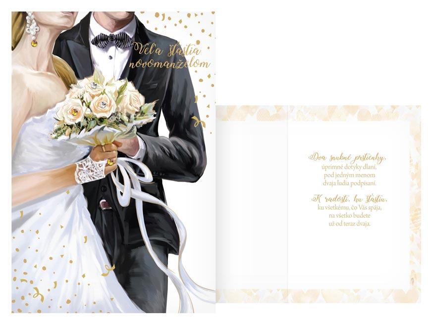 sK Blahoželanie svadobné CN-655 PRANI_H_C0352