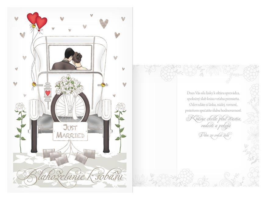 sK Blahoželanie svadobné CN-658 PRANI_H_C0355