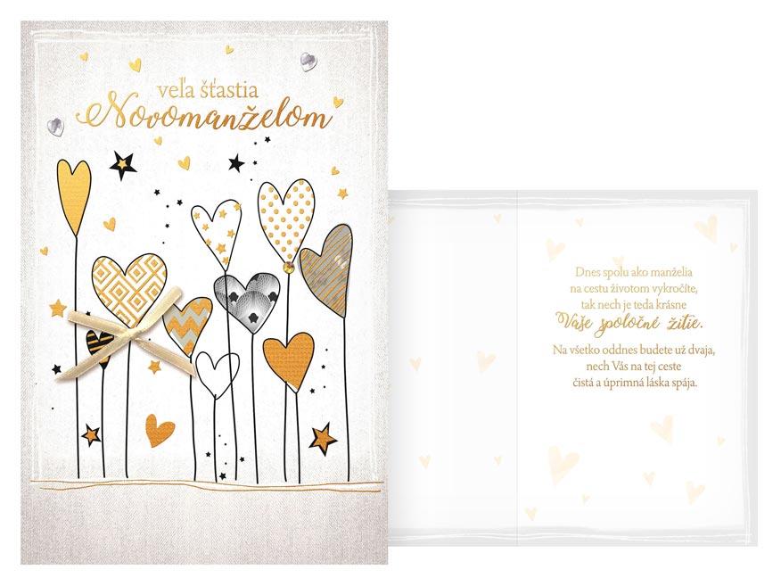 sK Blahoželanie svadobné CN-659 PRANI_H_C0356