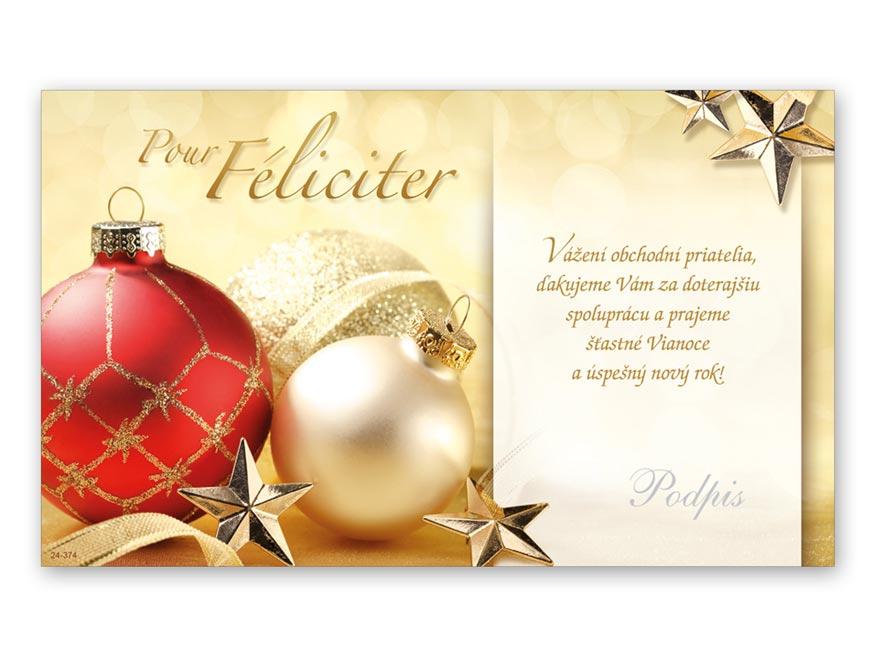 SK Blahoželanie novoročný, PF V24- 374 K