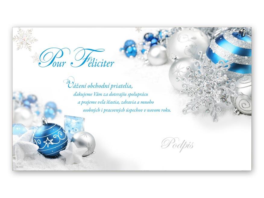 sK Blahoželanie novoročný, PF V24-320 K PRANI_K__92