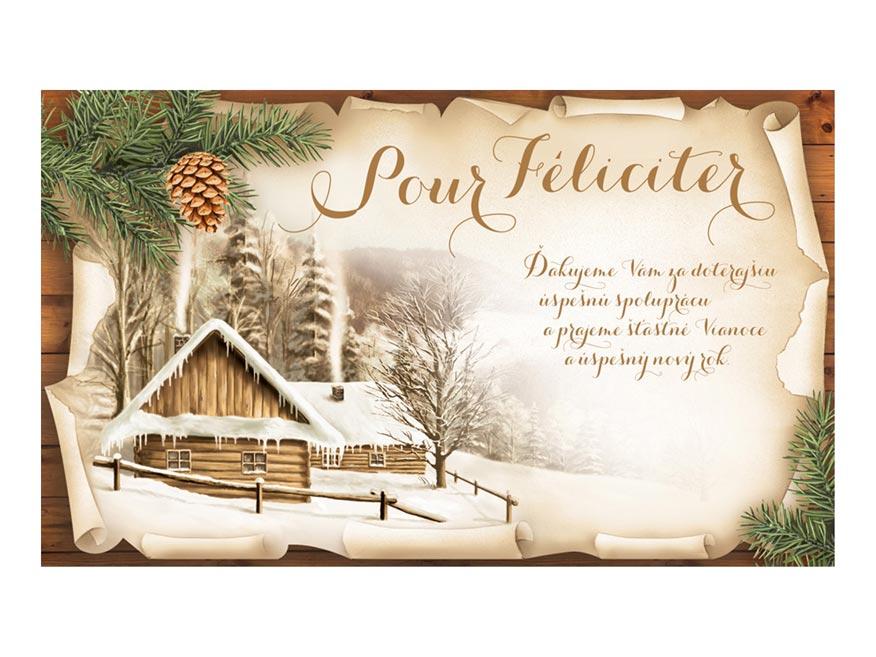 sK Blahoželanie novoročné, novoročné, PF V24-411 K PRANI_K_100
