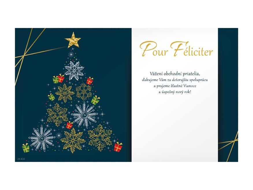 sK Blahoželanie novoročné, PF V24-433 K PRANI_K_105