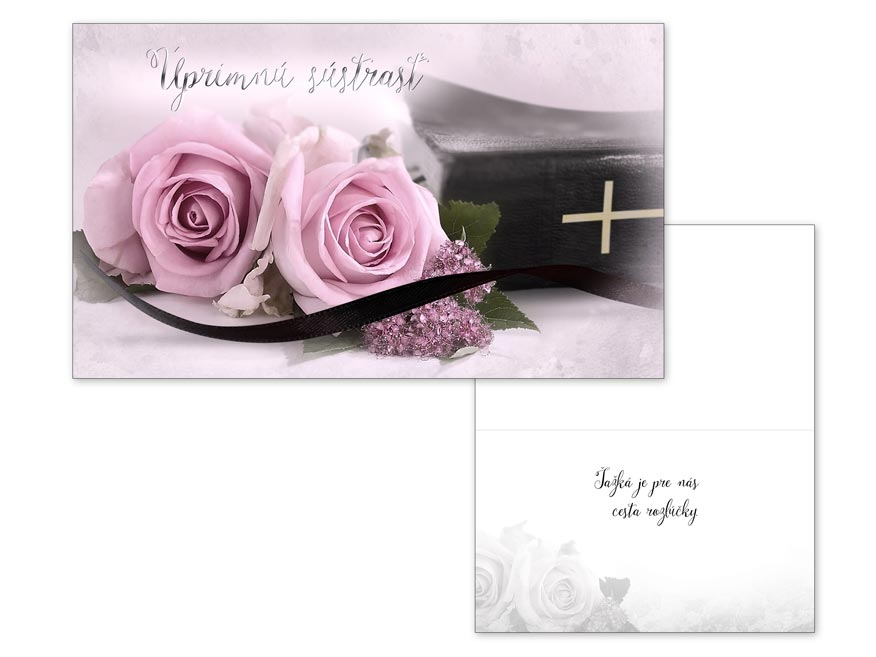 SK Blahoželanie kondolenčné M13-068 O