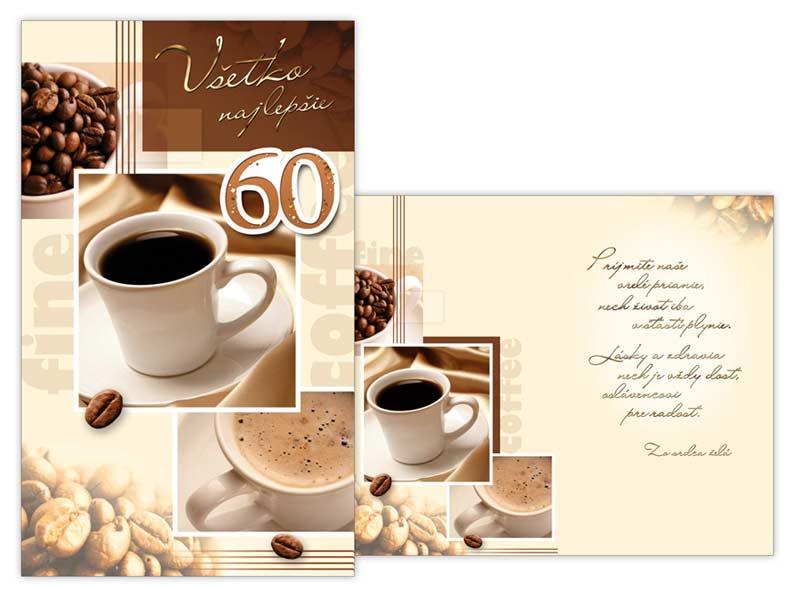 SK Blahoželanie k narodeninám 60 M11-404 T