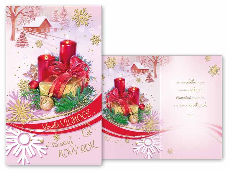 SK Blahoželanie vianočné V24-327 T