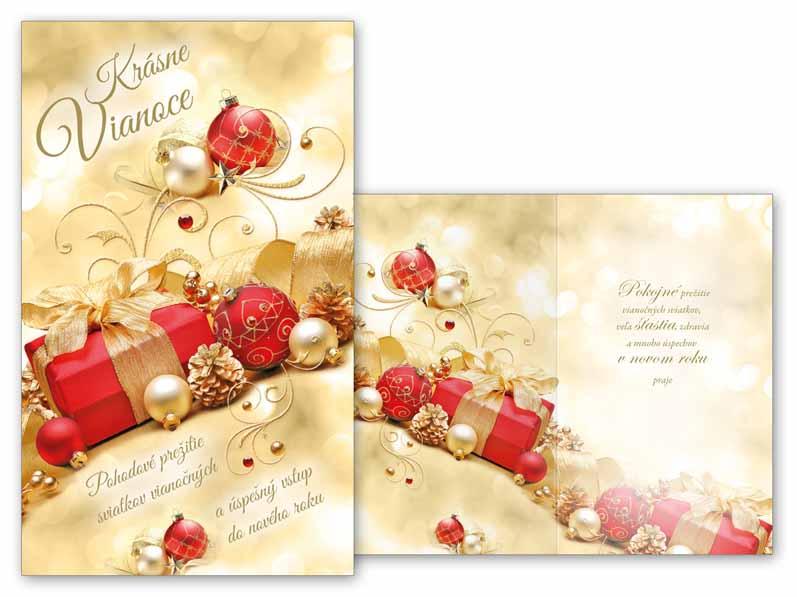 SK Blahoželanie vianočné V24-332 T
