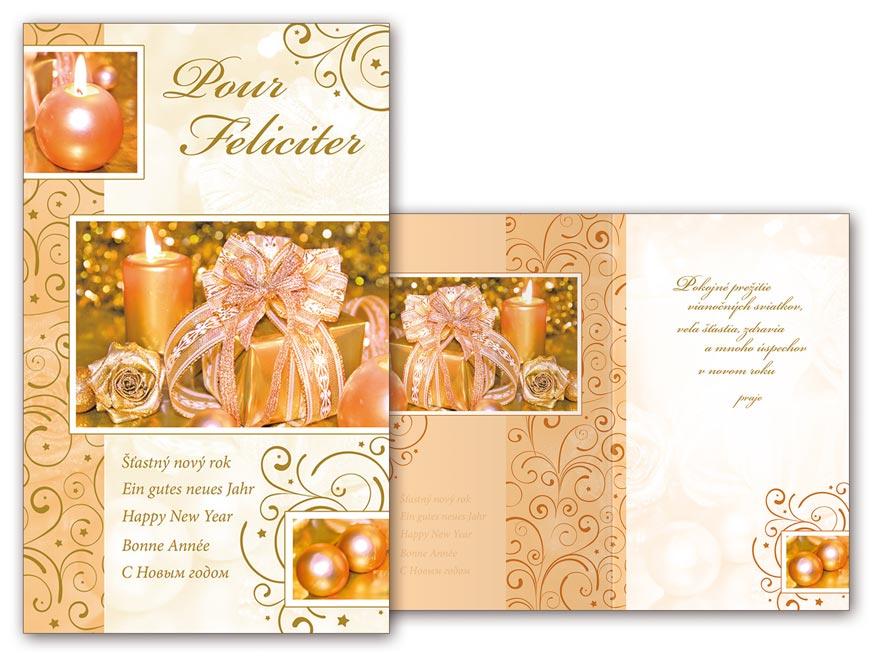 sK Blahoželanie novoročné, PF V24-352 T PRANI_T_1556