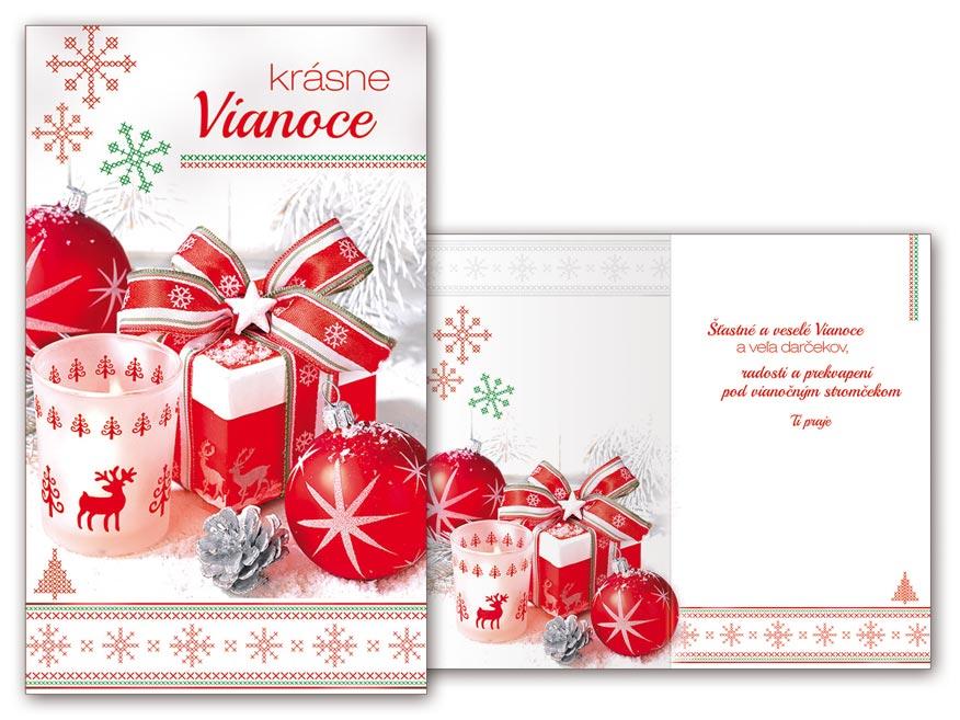 SK Blahoželanie vianočné V24-357 T