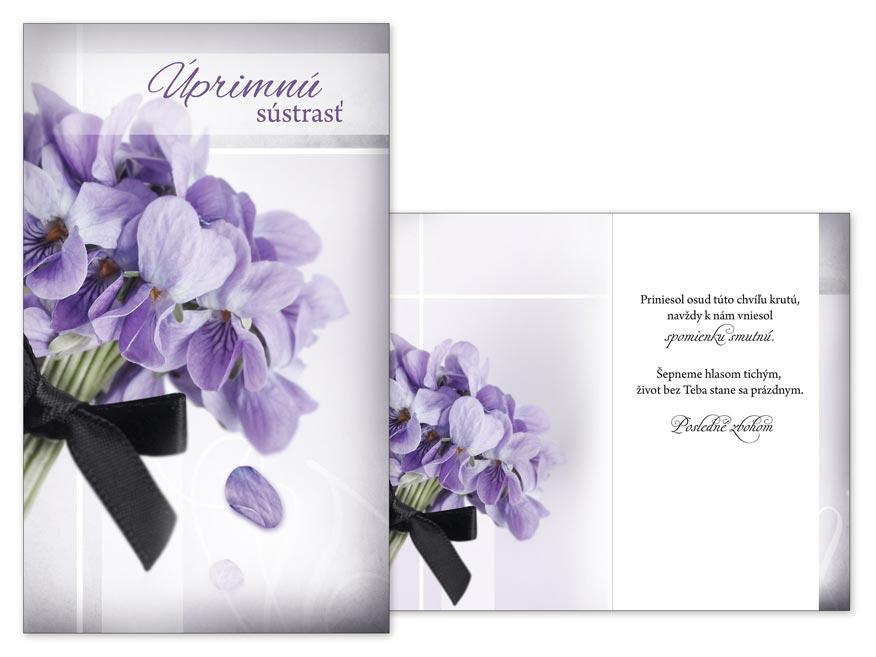 SK Blahoželanie kondolenčné M13-063 T