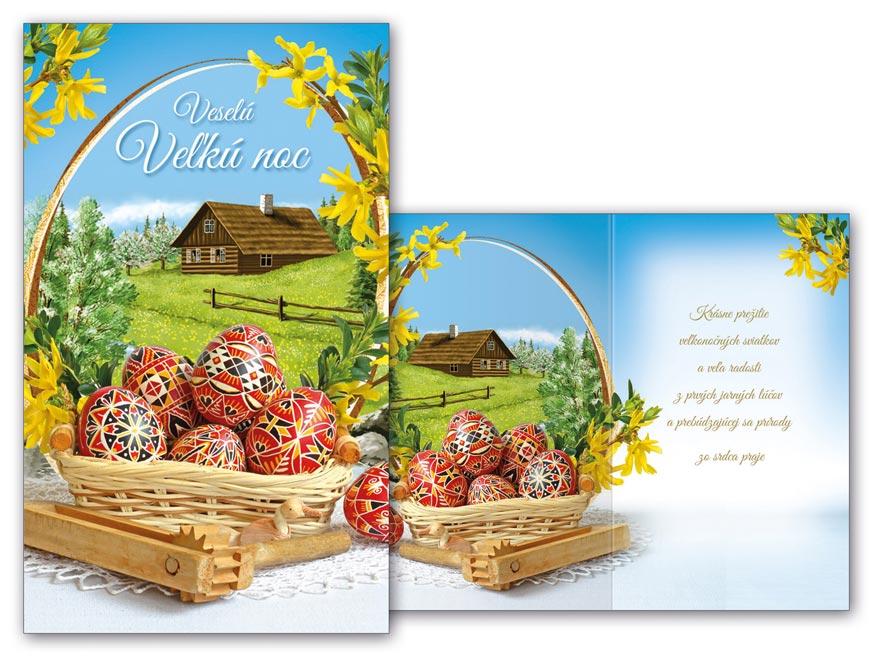 SK Blahoželanie veľká noc N22-050 T
