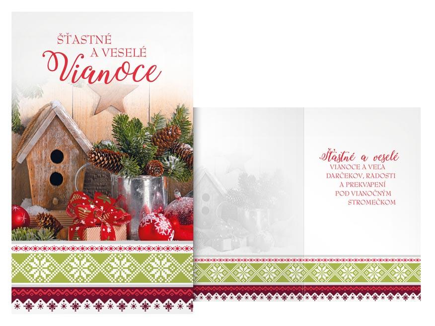 SK Blahoželanie vianočné  V24-394 T