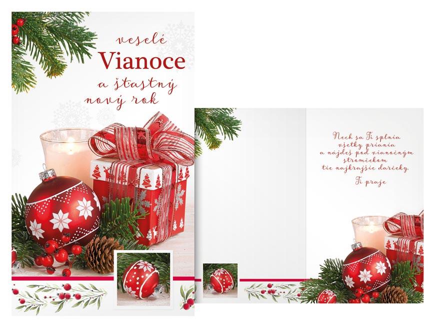 SK Blahoželanie vianočné  V24-396 T