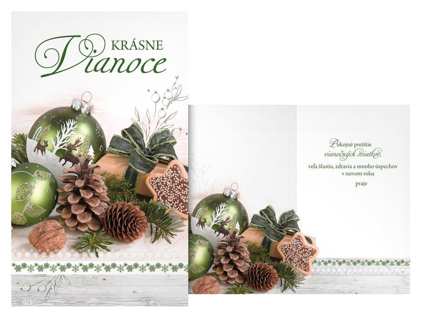 SK Blahoželanie vianočné  V24-397 T