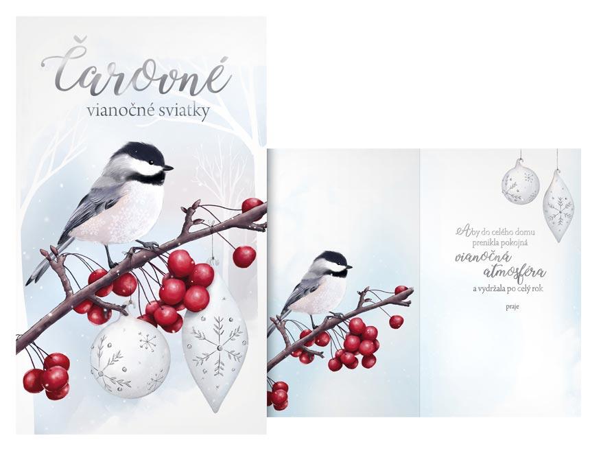 SK Blahoželanie vianočné  V24-398 T