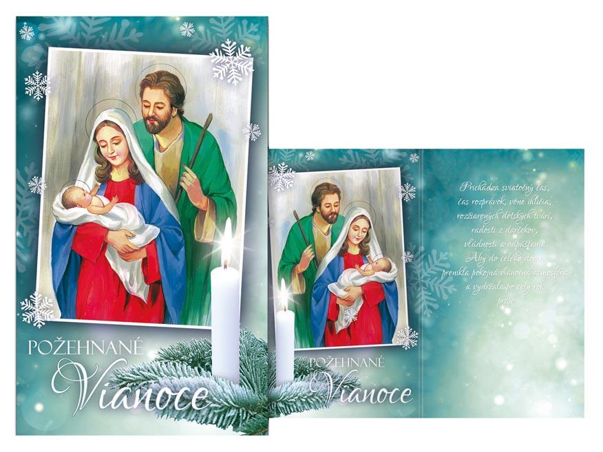 SK Blahoželanie vianočné  V24-402 T