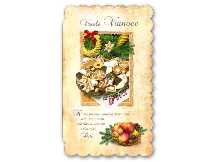 SK Blahoželanie vianočné V24-192 T