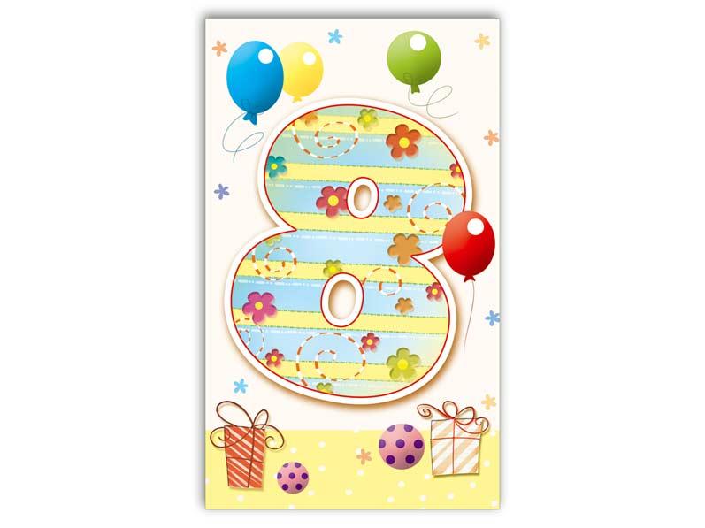 Blahoželanie k narodeninám 08 M33-023 T