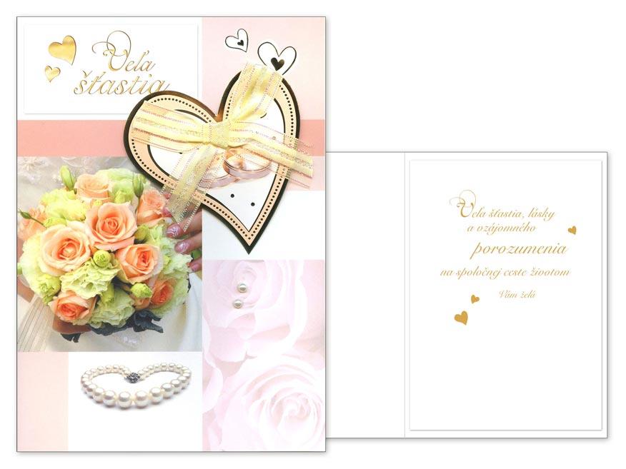 SK Blahoželanie svadobné CN-415
