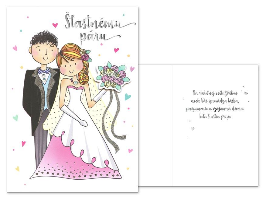 sK Blahoželanie svadobné  CN-510 PRANI_T_C0281